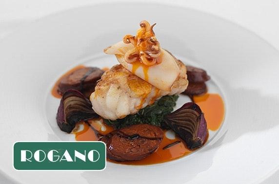 Rogano tasting menu