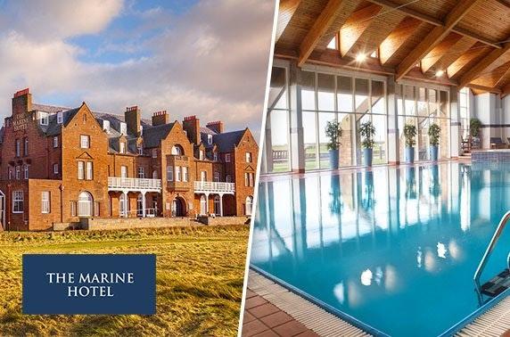 4* Marine Hotel DBB or spa stay