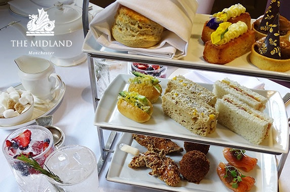4* The Midland evening tea & gin