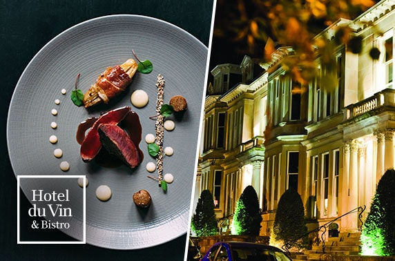 Champagne dining at One Devonshire Gardens by Hotel Du Vin