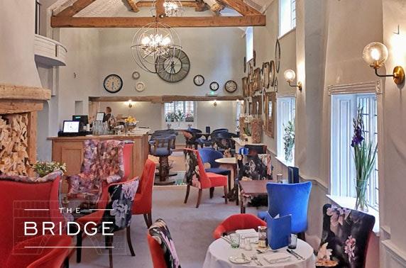 The Bridge Hotel Prosecco dining, Cheshire