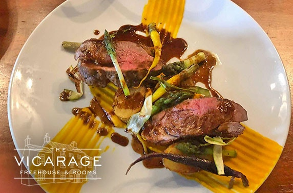 The Vicarage dining & Prosecco, Cheshire