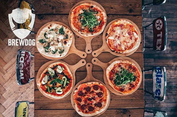 Brand new BrewDog Perth pizza & wine or beers