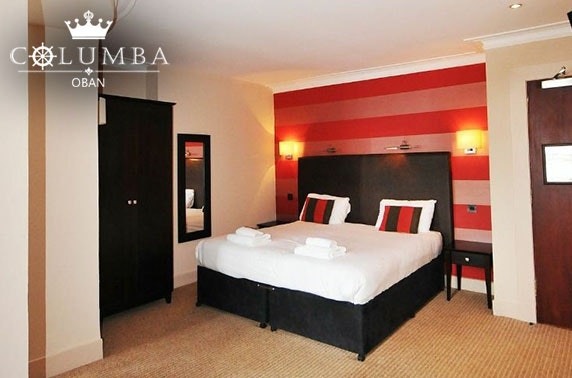 The Columba Hotel stay, Oban