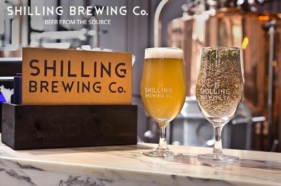 Shilling Brewing Company tour, City Centre