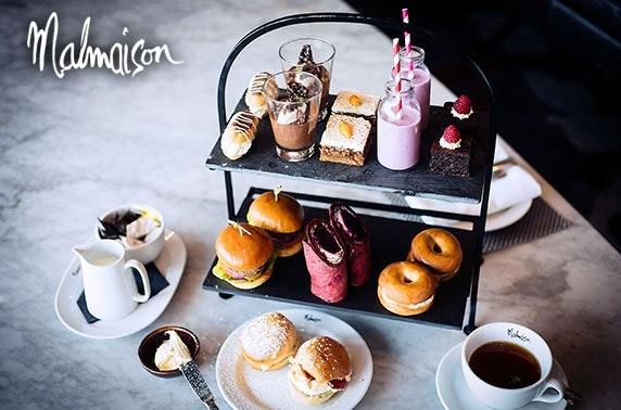 4* Malmaison Edinburgh Prosecco afternoon tea