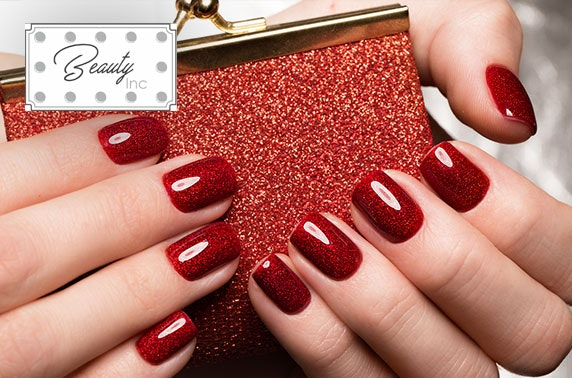Beauty Inc Shellac manicure or pedicure