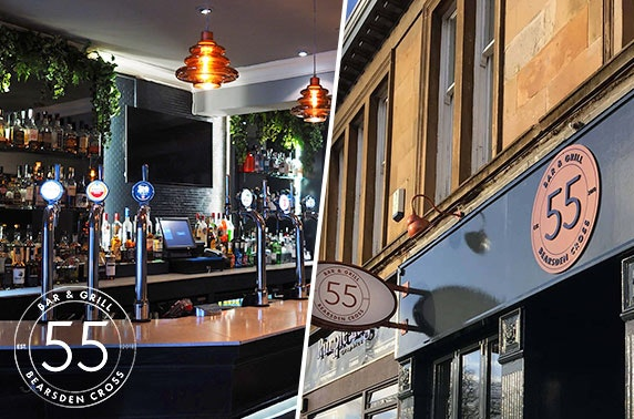 Small plates at 55 Bar and Grill, Bearsden
