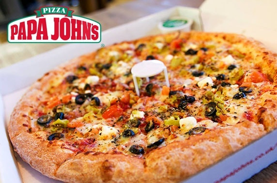 Papa John's pizza – from £1.99