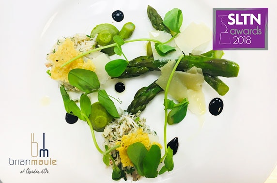 Brian Maule at Chardon d'Or fine dining