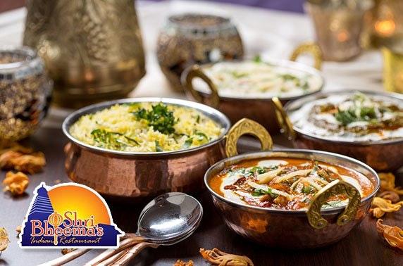Shri Bheema's Indian dining – from £3.50pp