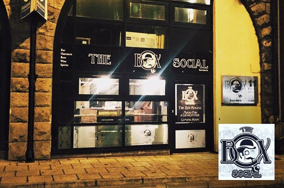 The Box Social beer tasting, Forth Street