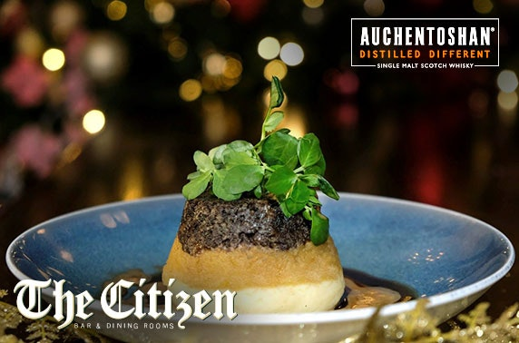 The Citizen 4 course Auchentoshan dining
