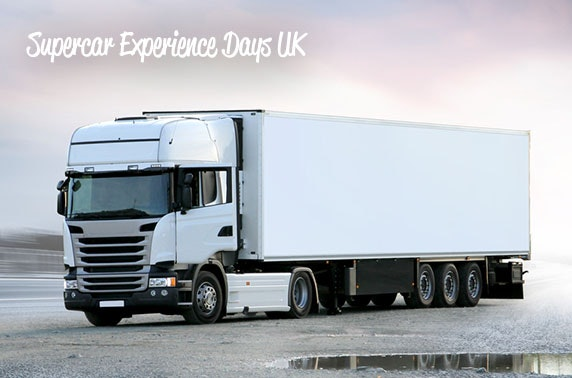 Supercar lorry driving experience, Leuchars Station