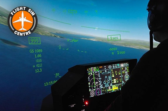 Flight simulator experience at Flight Sim Centre