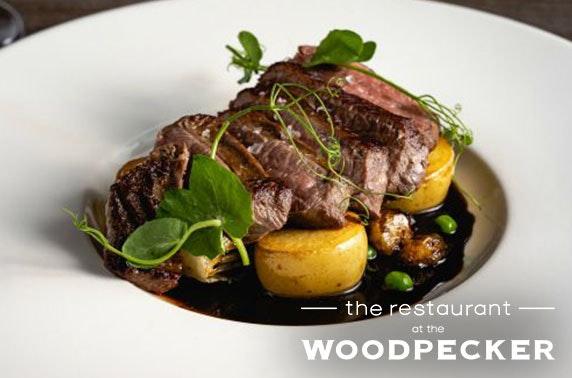 Award-winning The Restaurant at The Woodpecker dining, Lanark