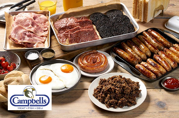 Campbells Prime Meat breakfast, steak & fish boxes