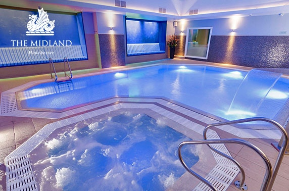 4* The Midland Hotel spa day