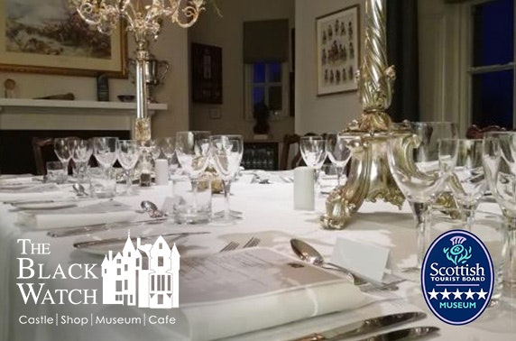 5* Black Watch Castle & Museum private dining