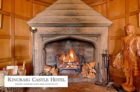 4* Kincraig Castle Hotel romantic break