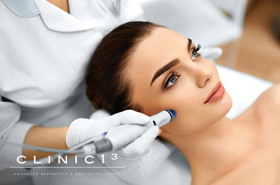 Clinic13 facial treatments, City Centre