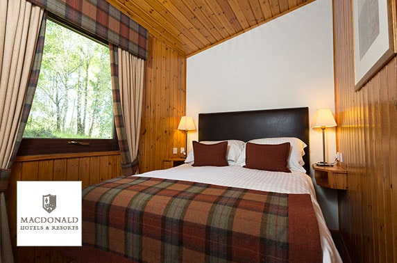 Lodge stay near Aviemore – from £7pppn