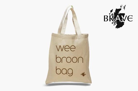 Wee broon tote bag