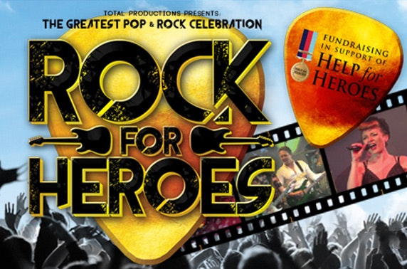 Rock For Heroes concert at Whitley Bay Playhouse