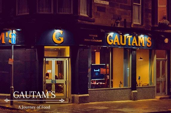 Brand new Gautam's curries & drinks