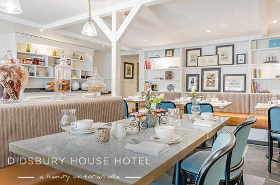 Didsbury House stay with cream tea