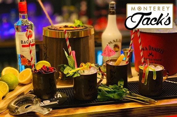 Monterey Jack's cocktails & nibbles – Airdrie & Paisley venues