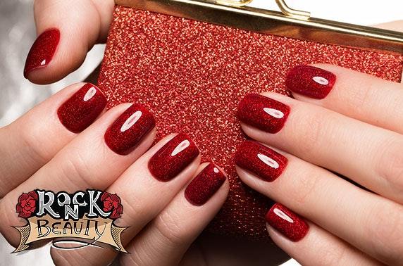 Brand new Rock 'N' Beauty shellac nails, Perth