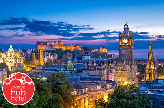 Edinburgh Haymarket stay – from £16pppn