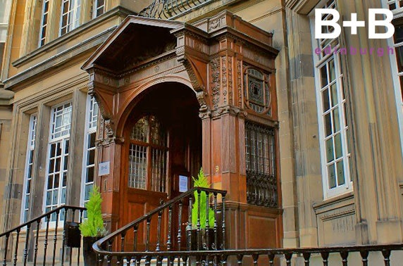 Luxury B+B Edinburgh break – from £59