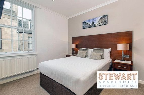 Stewart Aparthotel Edinburgh city-centre stay from £59