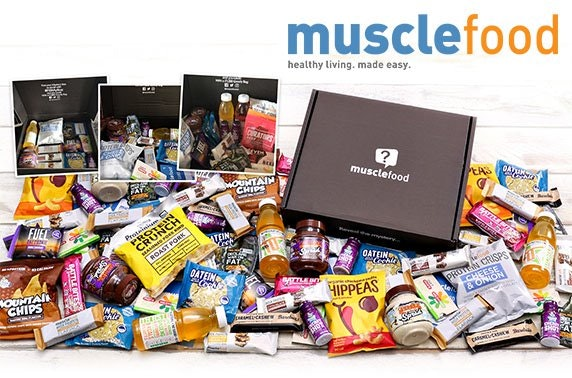 Muscle Food healthy snack boxes
