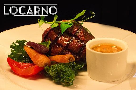 Brand new Locarno Prosecco dining, Merchant City