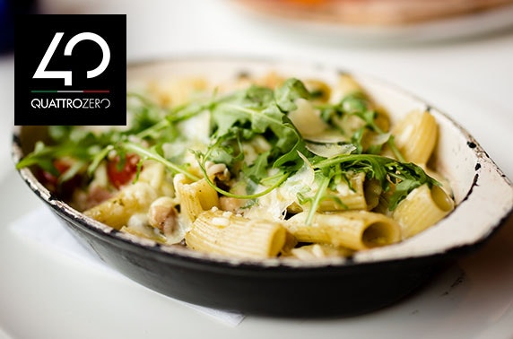 Italian dining & drinks at Quattro Zero West End