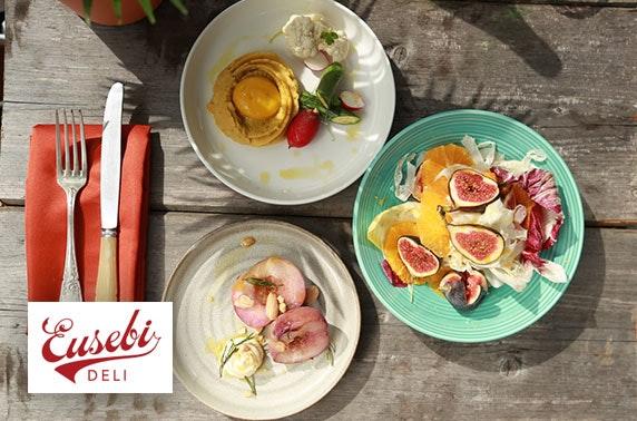 Award-winning Eusebi Deli dining