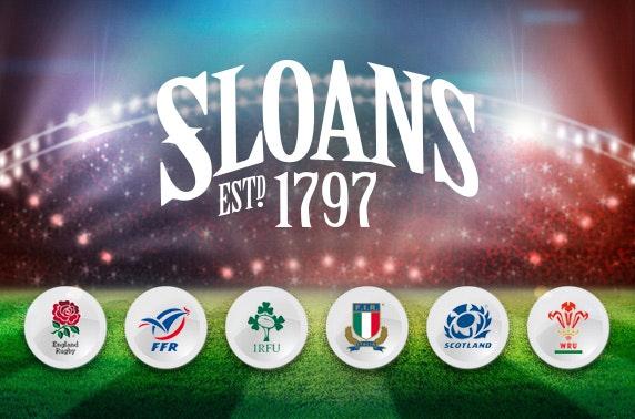 6 Nations at Sloans
