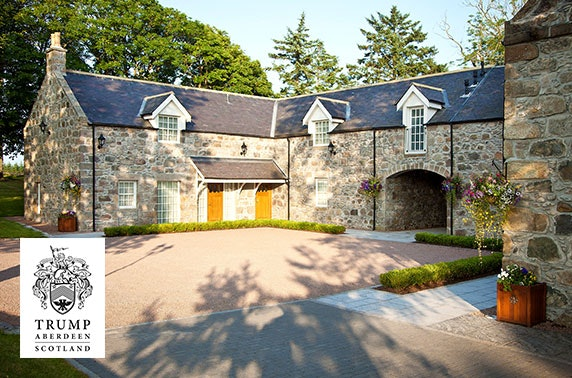 5* MacLeod House & Lodge Hotel luxury overnight stay, Aberdeenshire
