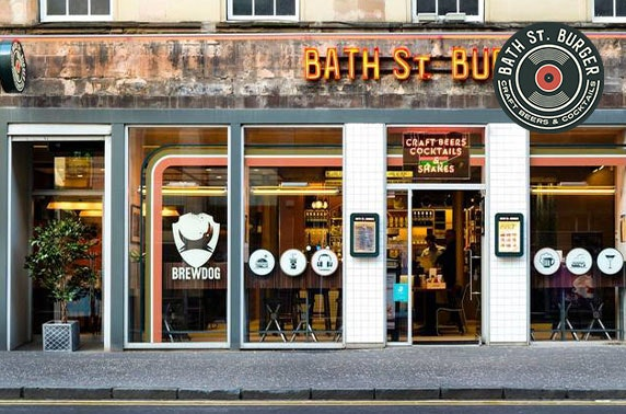 Burgers & drinks at brand new Bath St. Burger