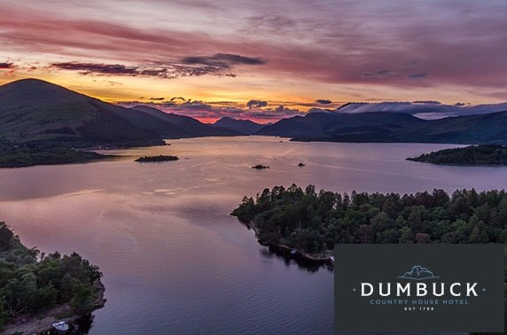 Dumbuck Country House DBB, Dumbarton – from £49