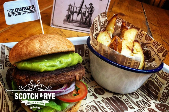 Scotch & Rye burgers & drinks, Inverness