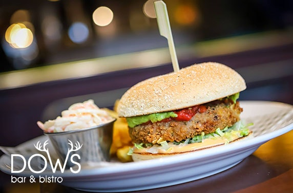 Dining at Dows Bar & Bistro, Inverness