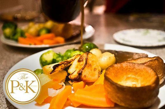 The Pub & Kitchen 2 course Sunday roast