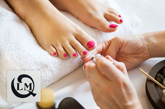 LMQ Shellac manis & pedis, Edinburgh