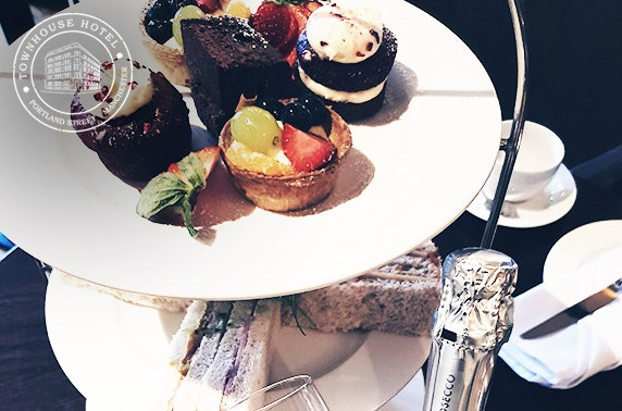 Townhouse Hotel Prosecco & gin afternoon teas