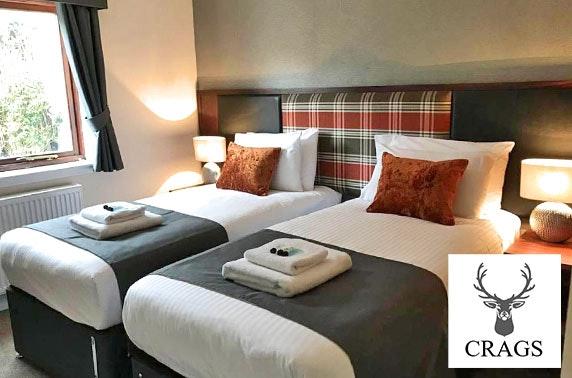 The Crags Hotel DBB, Callander - £59