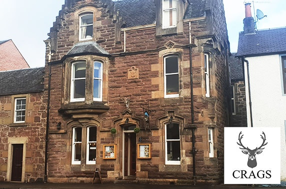 The Crags Hotel DBB, Callander - £59